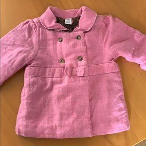 Pink Pea Coat from Gap